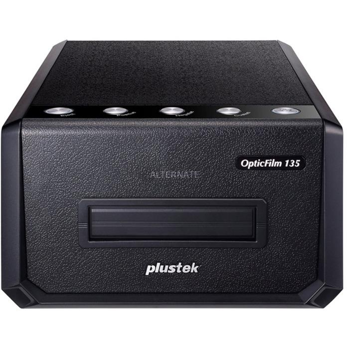 OpticFilm 135 Film/slide scanner 3600 x 3600DPI Negro, Escáner de diapositivas