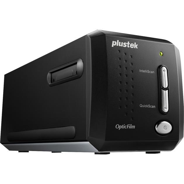 OpticFilm 8200i Ai 7200 x 7200 DPI Escáner de negativos/diapositivas Negro, Escáner de diapositivas