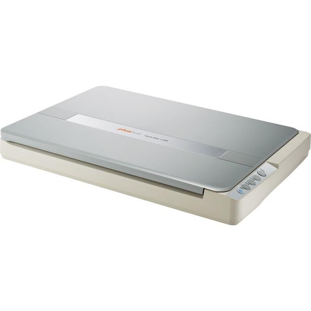 OpticSlim 1180 1200 x 1200 DPI Escáner de cama plana Plata, Blanco A3, Escáner plano