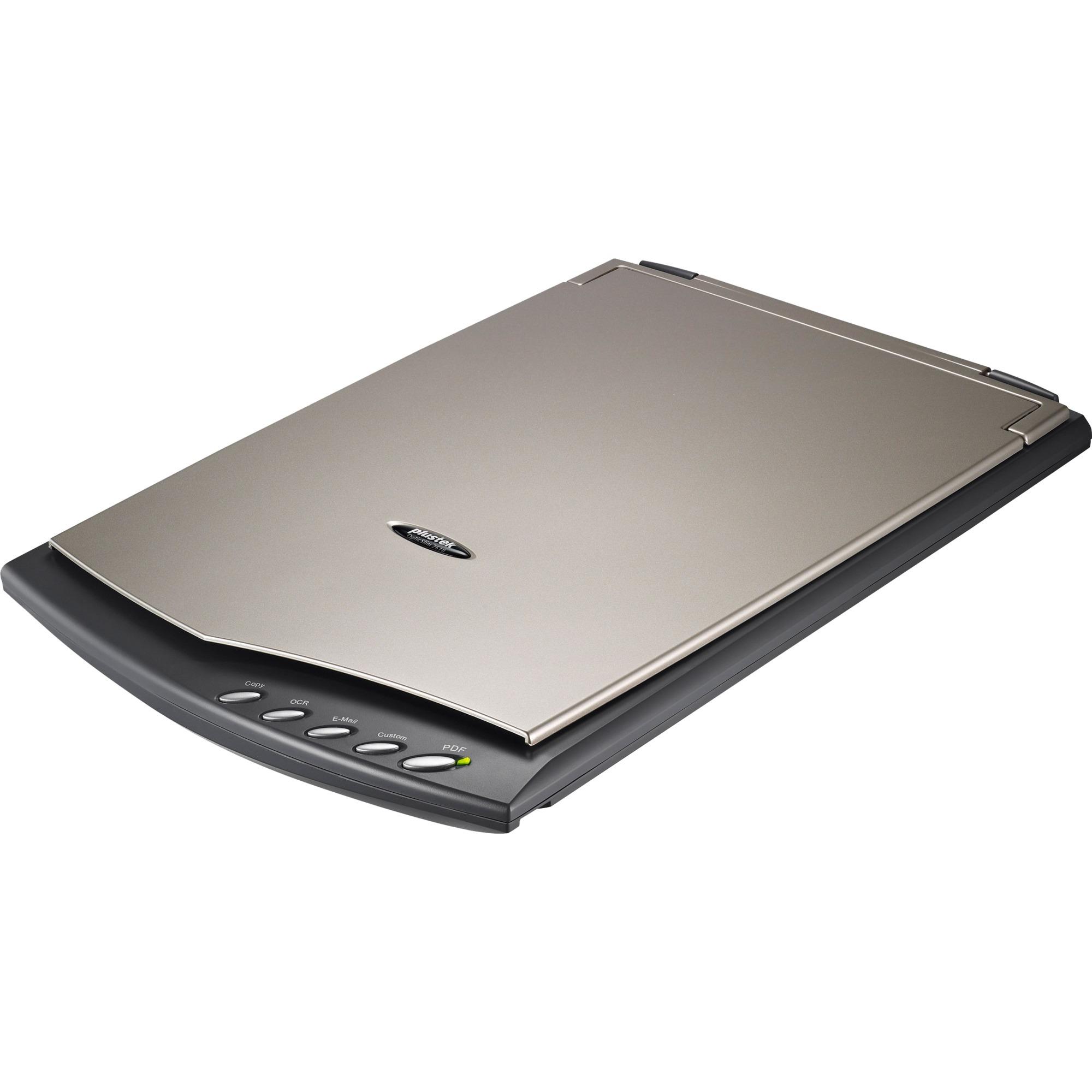 OpticSlim 2610 1200 x 1200 DPI Escáner de cama plana Gris A4, Escáner plano