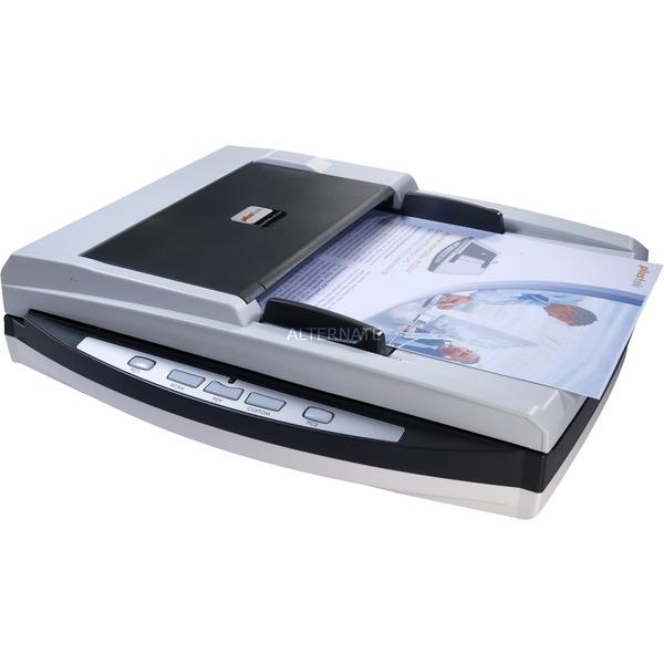 SmartOffice PL1530 Flatbed & ADF scanner 600 x 600DPI A4 Negro, Color blanco, Escáner de alimentación de hojas