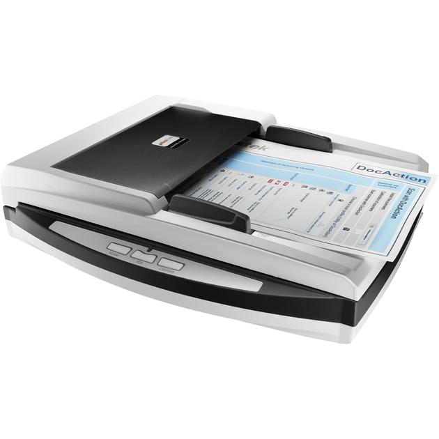 SmartOffice PN2040 600 x 600 DPI Escáner de superficie plana y alimentador automático de documentos (ADF) Negro, Blanco A4, Escáner plano