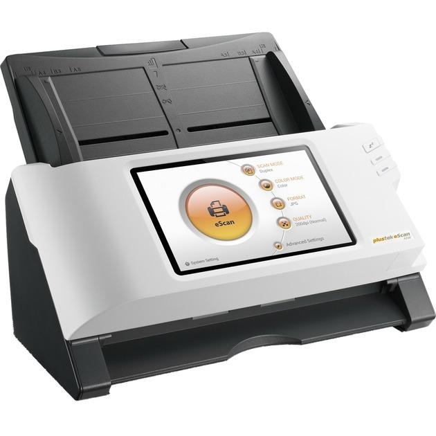 eScan A150 Escáner con alimentador automático de documentos (ADF) 600 x 600DPI A4 Negro, Blanco, Escáner de alimentación de hojas