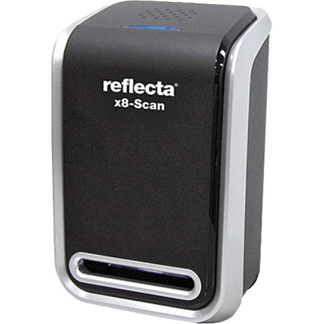 x8-Scan Film/slide scanner 1800 x 1800DPI Negro, Escáner de diapositivas