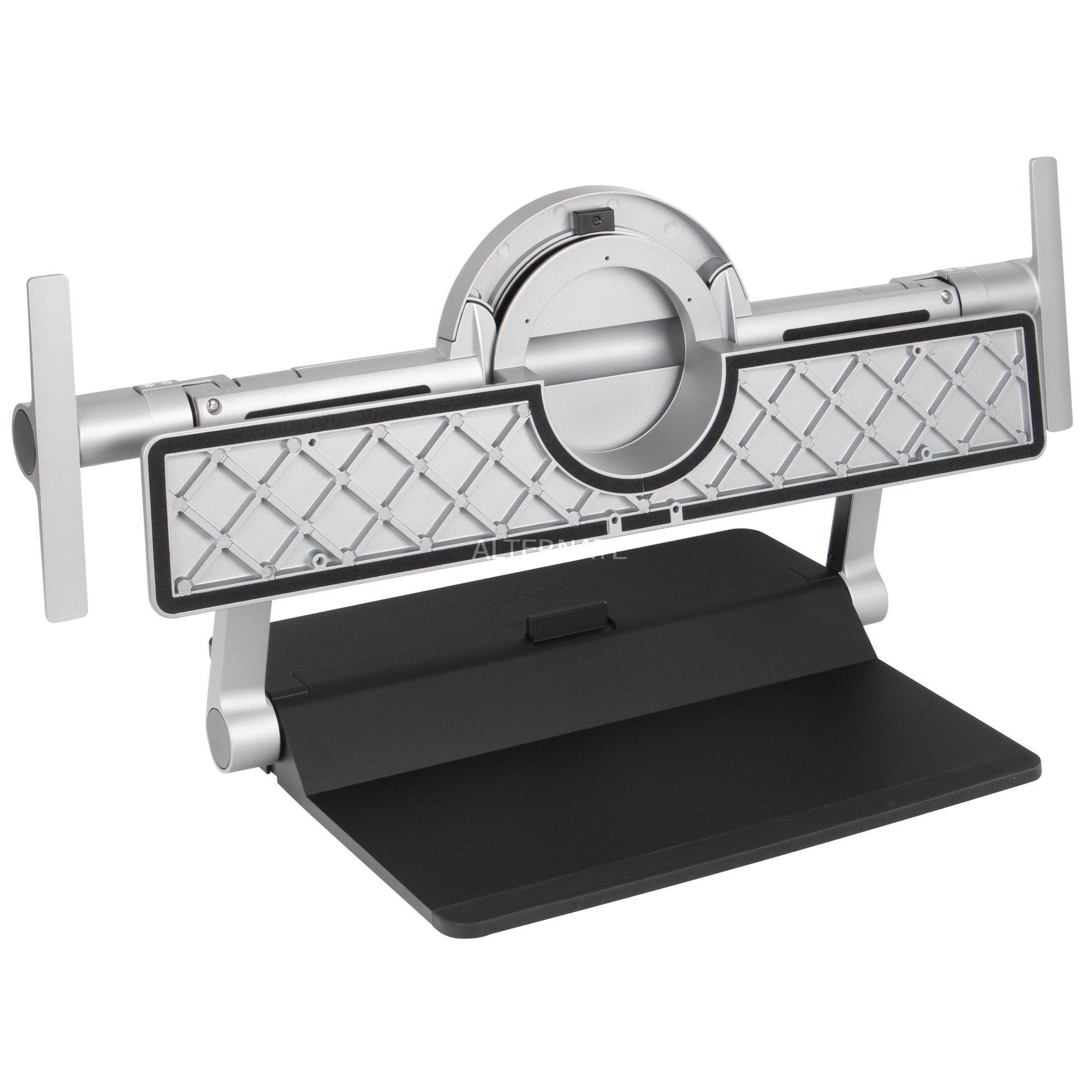 """ACK62802K soporte de mesa para pantalla plana 81,3 cm (32"""") Independiente Negro, Gris, Soporte de pie"""