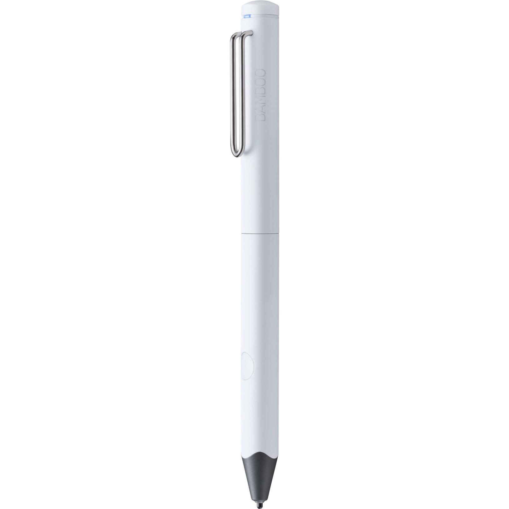 Bamboo Fineline 3 18g Blanco lápiz digital, Bolígrafo para pantallas