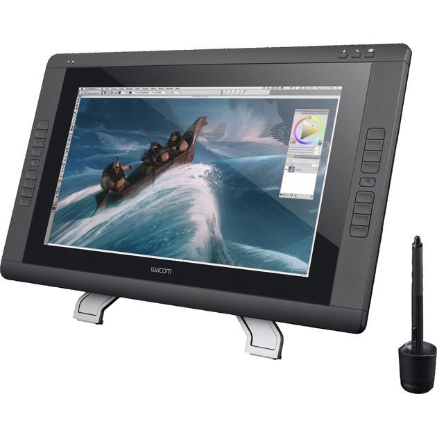 Cintiq 22HD tableta digitalizadora 5080 líneas por pulgada 479 x 271 mm Negro, Tableta gráfica