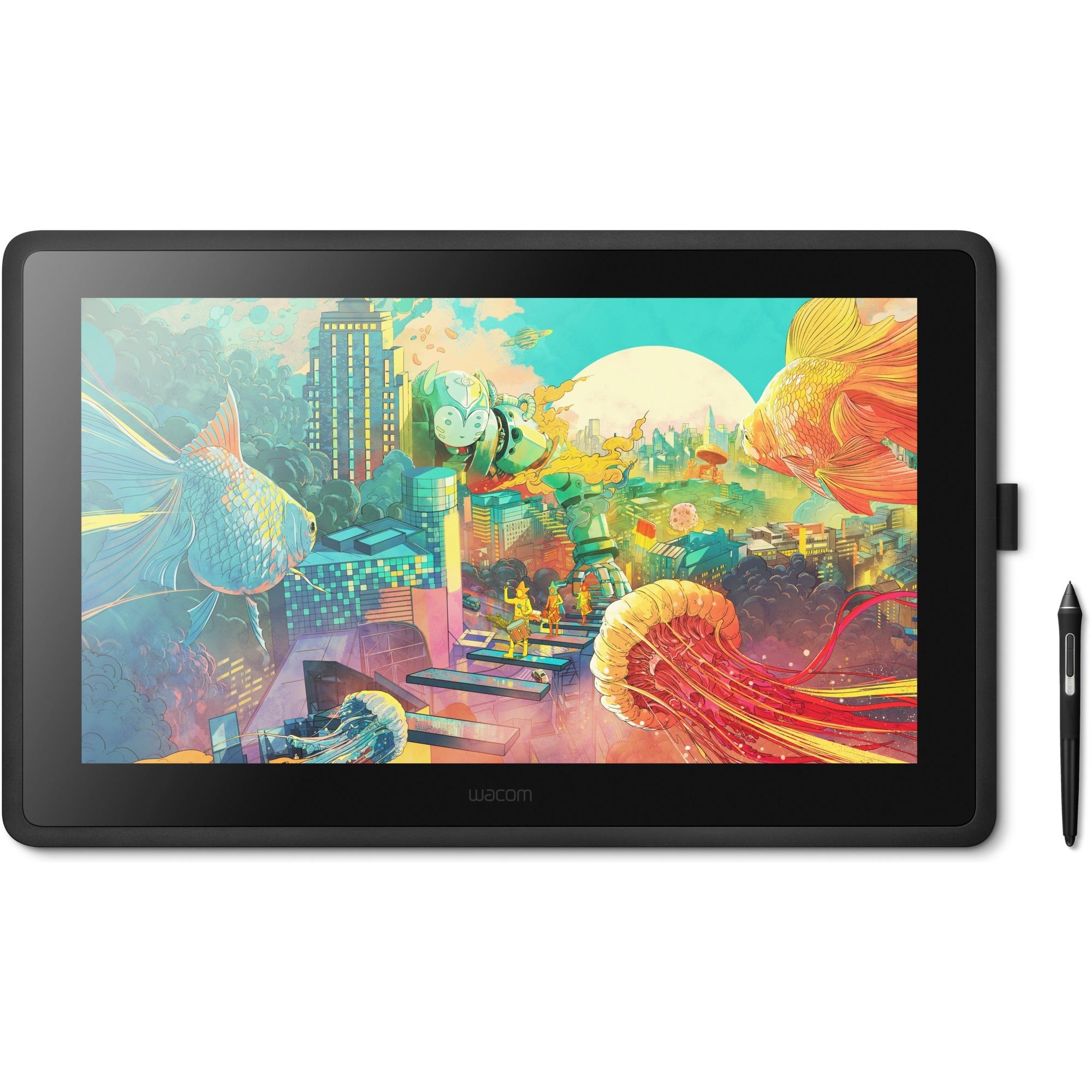 Cintiq DTK2260K0A tableta digitalizadora Negro, Tableta gráfica
