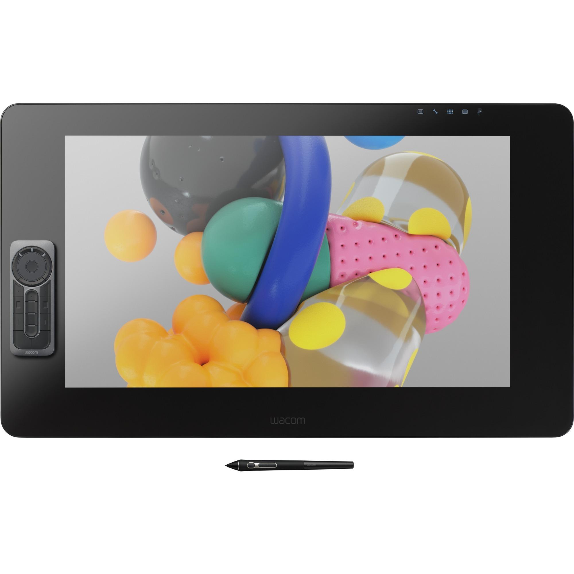 Cintiq Pro 24 tableta digitalizadora 5080 líneas por pulgada 522 x 294 mm USB Negro, Tableta gráfica