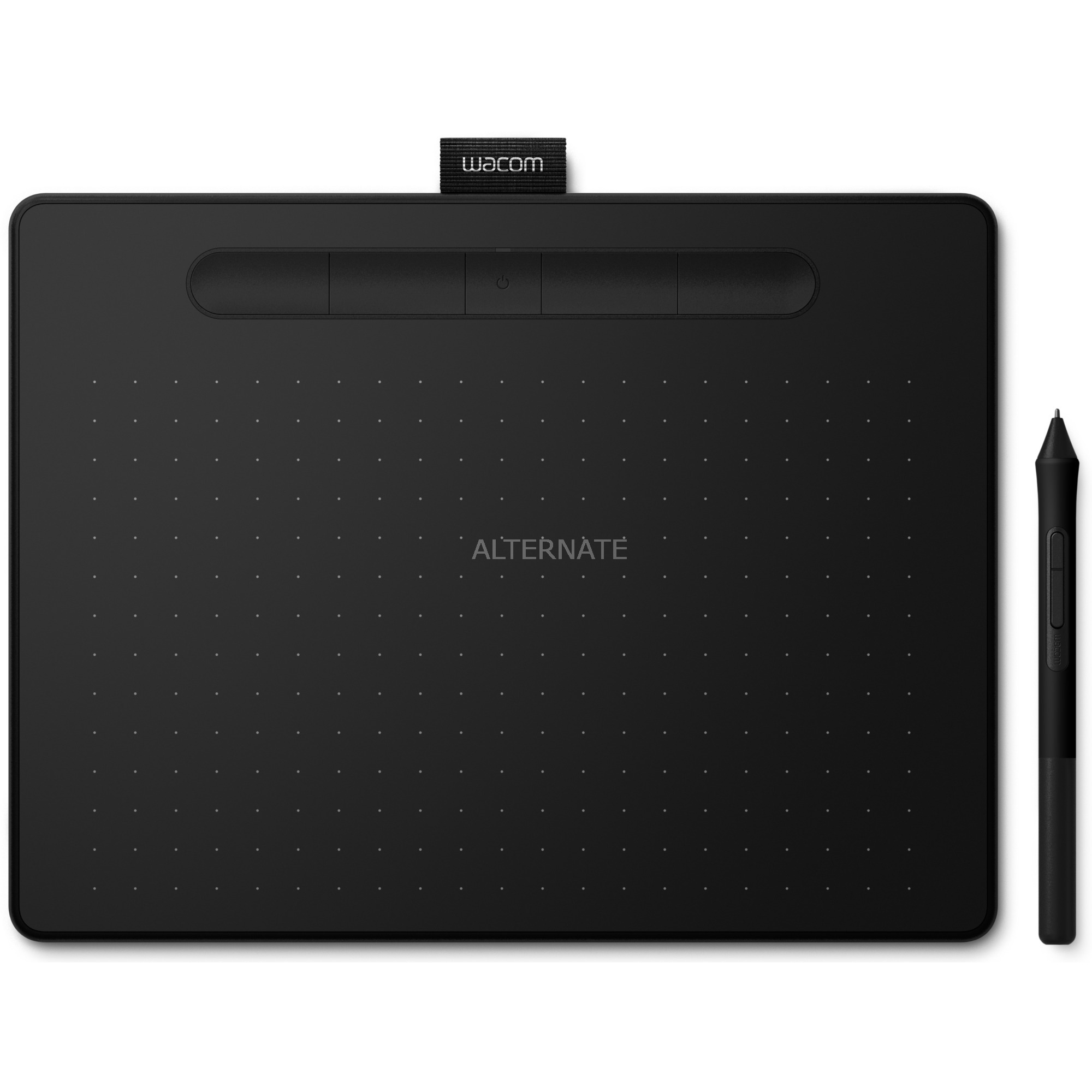 Intuos M Bluetooth tableta digitalizadora 2540 líneas por pulgada 216 x 135 mm USB/Bluetooth Negro, Tableta gráfica
