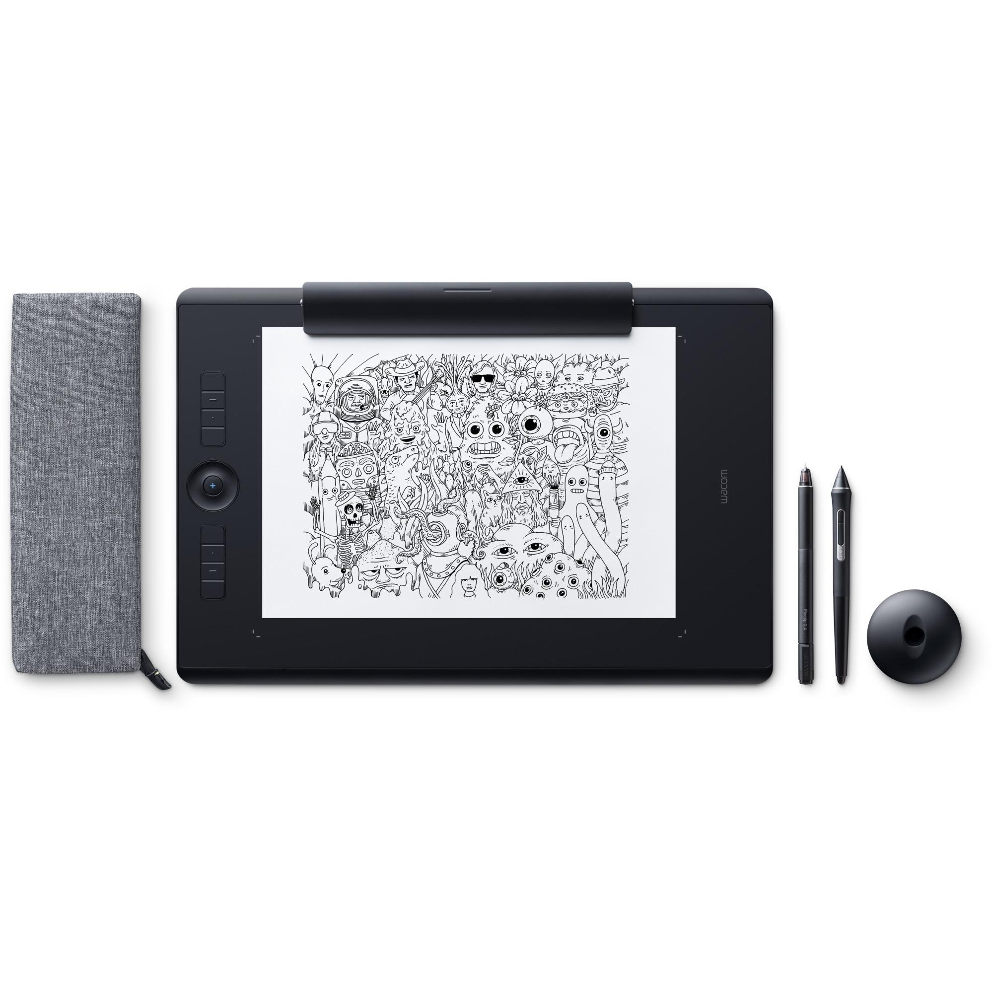 Intuos Pro Paper tableta digitalizadora 5080 líneas por pulgada 311 x 216 mm USB/Bluetooth Negro, Tableta gráfica