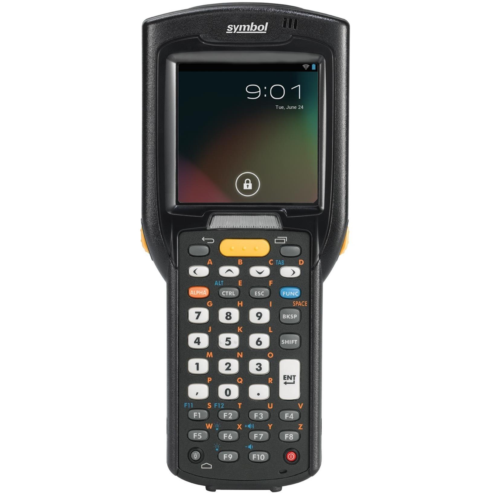 """MC3200 3"""" 320 x 320Pixeles Pantalla táctil 509g Negro ordenador móvil industrial, Escáner de código de barras"""
