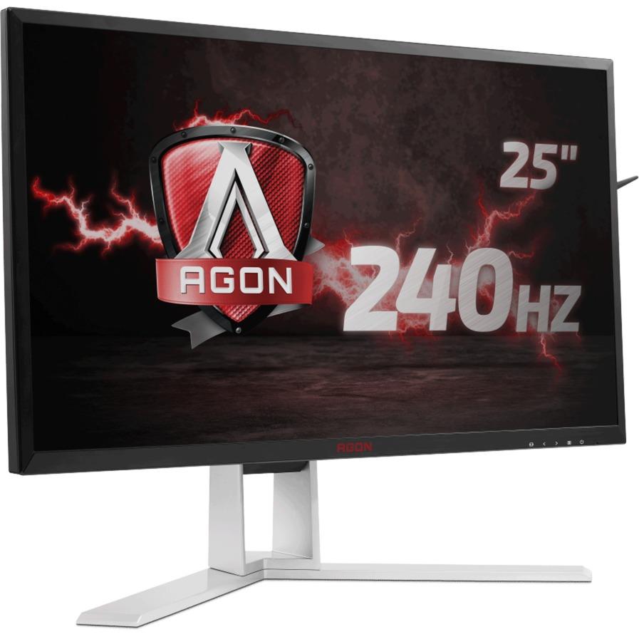 "AG251FZ 24.5"" Full HD Negro, Rojo pantalla para PC, Monitor LED"