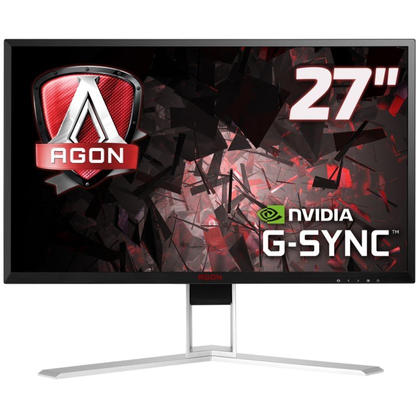 """AG271QG 27"""" Wide Quad HD IPS Negro, Rojo Plana pantalla para PC, Monitor LED"""