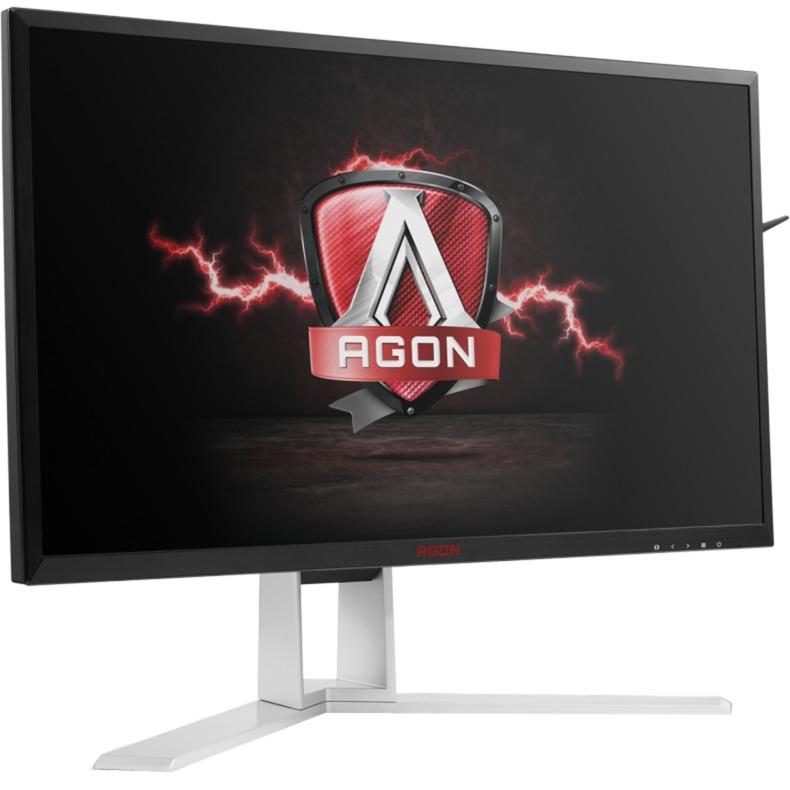 "AGON AG241QG 23.8"" Wide Quad HD TN Negro, Rojo Plana pantalla para PC, Monitor LED"