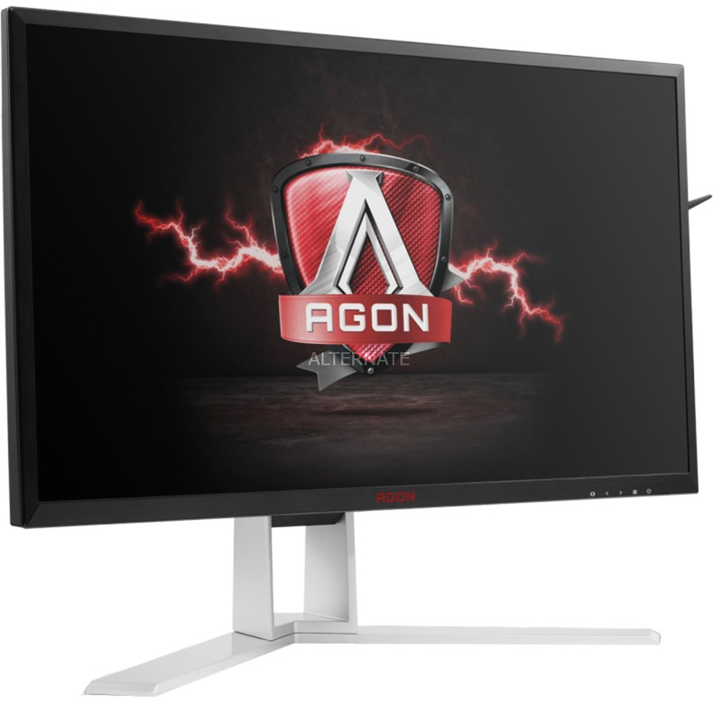 "Gaming AG241QG pantalla para PC 60,5 cm (23.8"") Quad HD LED Plana Negro, Rojo, Monitor LED"