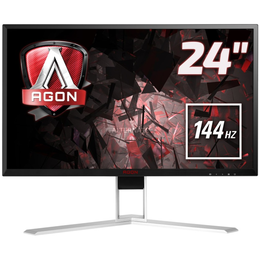 "Gaming AG241QX pantalla para PC 60,5 cm (23.8"") Wide Quad HD LED Negro, Rojo, Monitor LED"