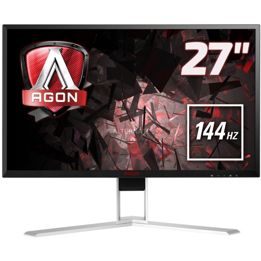 "Gaming AG271QX pantalla para PC 68,6 cm (27"") Wide Quad HD LED Plana Negro, Rojo, Monitor LED"
