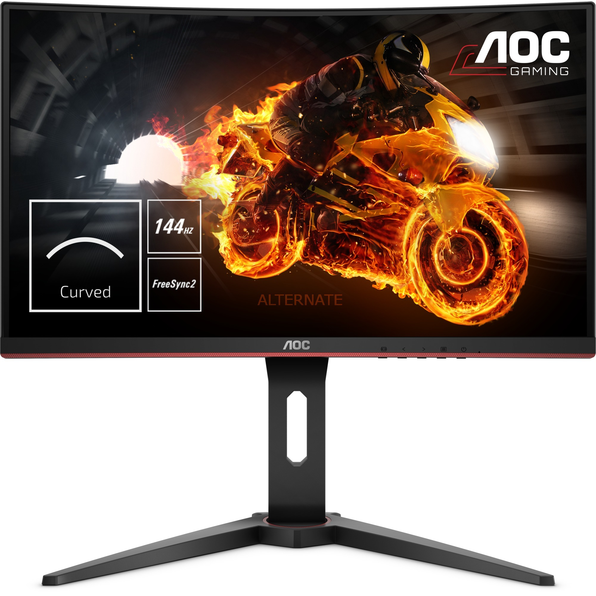 "Gaming C27G1 LED display 68,6 cm (27"") Full HD Curva Black, Monitor LED"