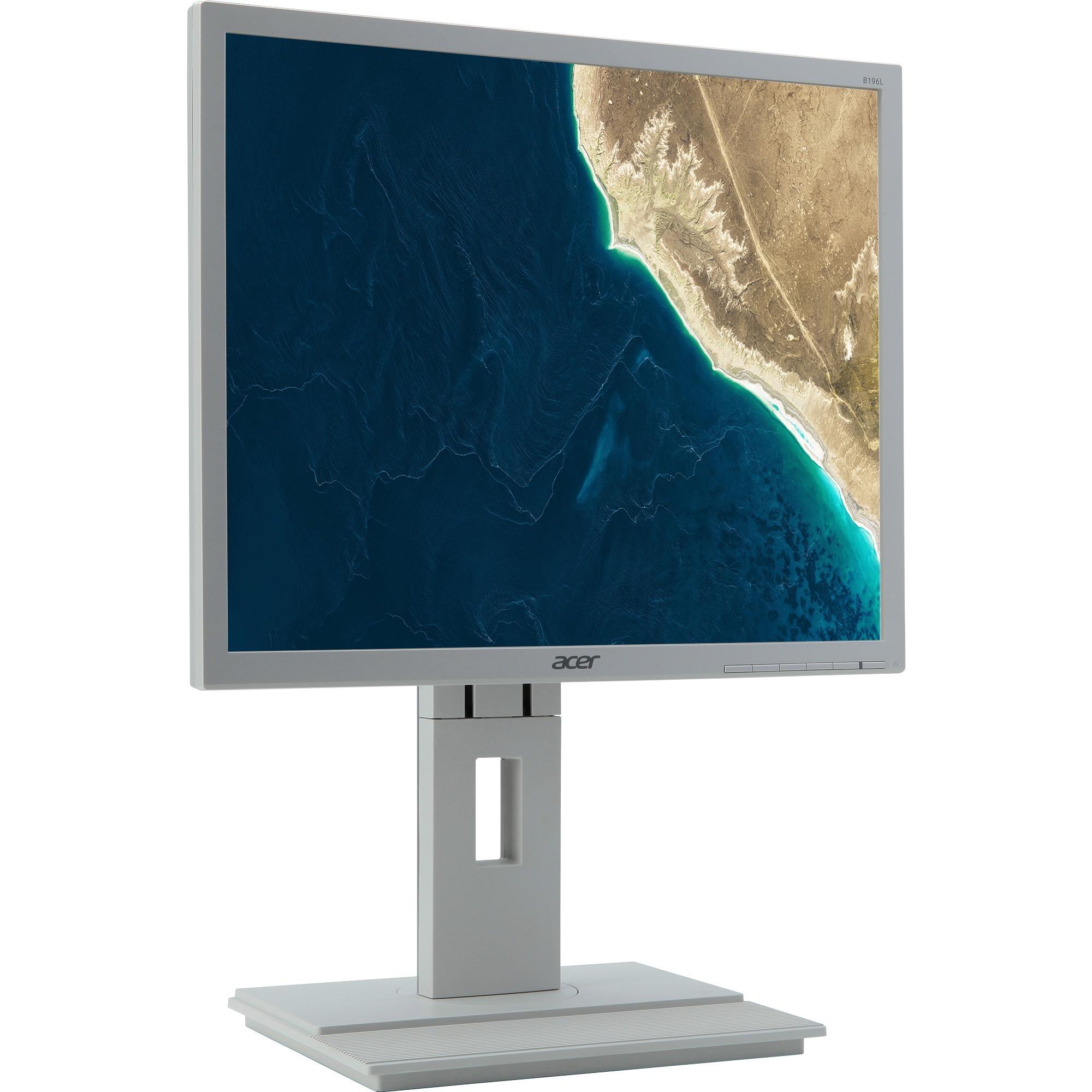 """B6 B196LA 19"""" HD IPS Mate Blanco Plana pantalla para PC, Monitor LED"""
