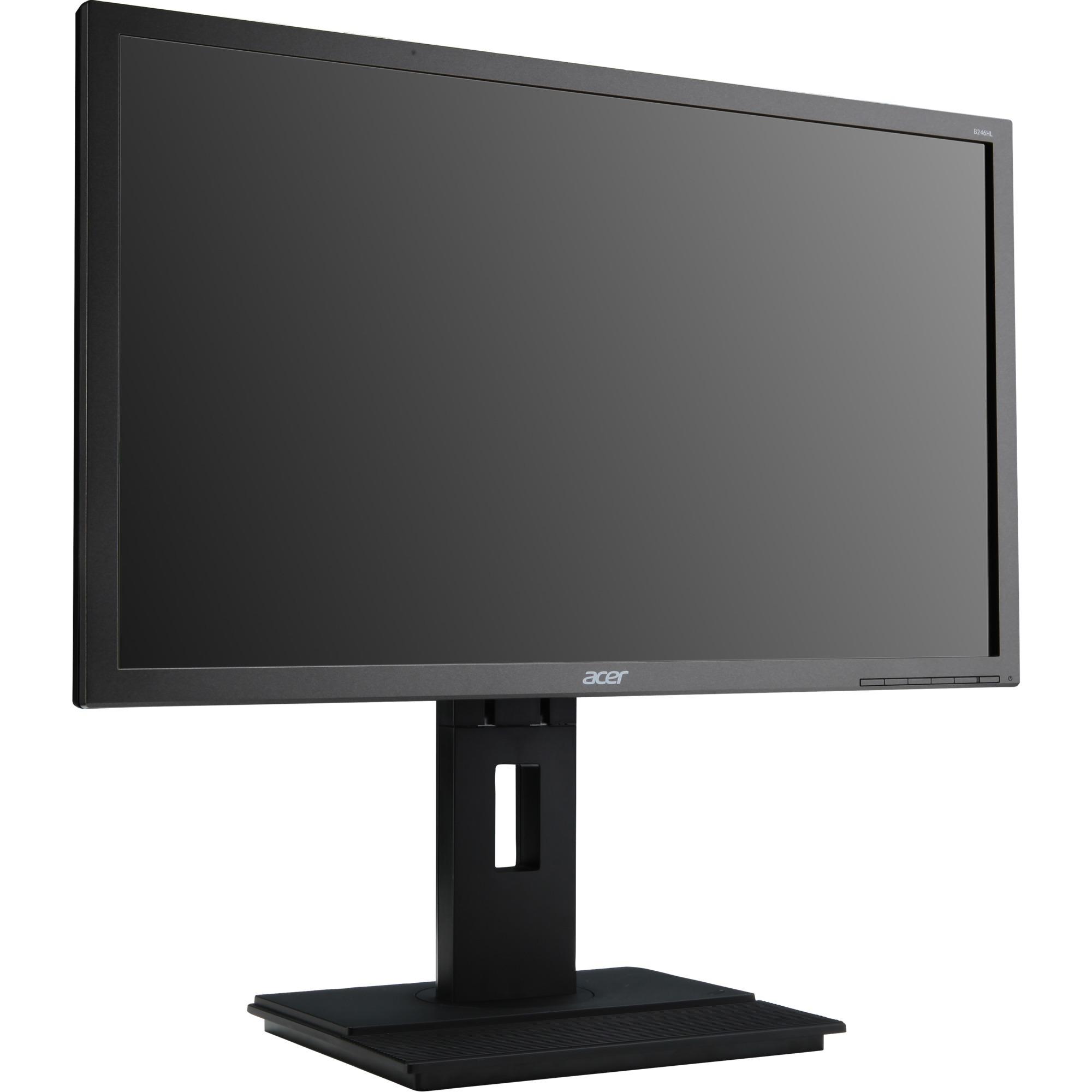 "B6 B246WLbmdprx pantalla para PC 61 cm (24"") WUXGA LED Plana Gris, Monitor LED"