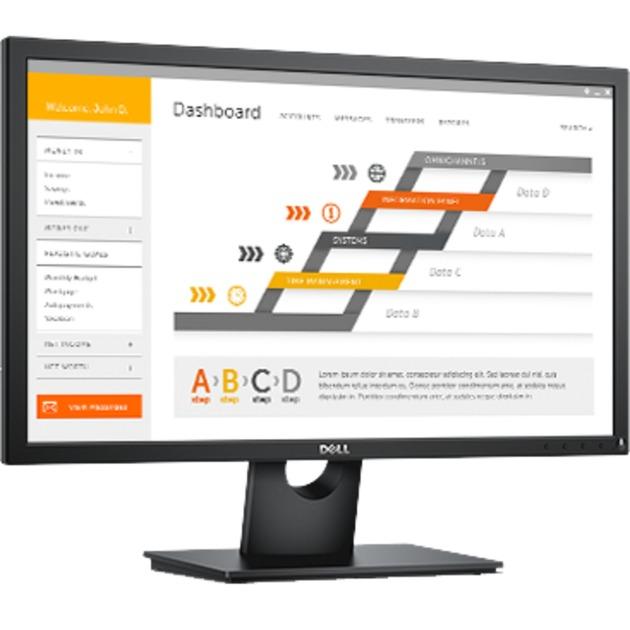 "E Series E2417H 23.8"" Full HD LED Mate Plana Negro pantalla para PC, Monitor LED"