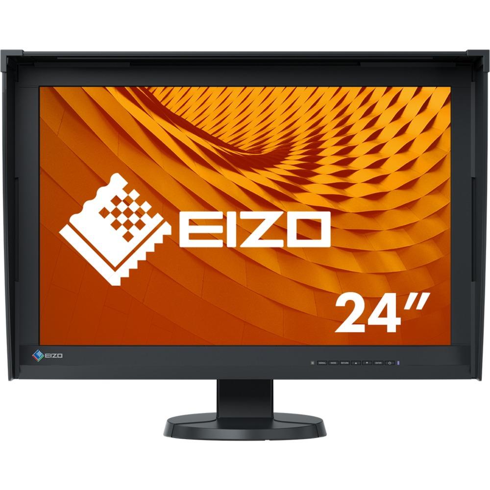 "ColorEdge CG247X pantalla para PC 61,2 cm (24.1"") 1920 x 1200 Pixeles WUXGA LED Plana Negro, Monitor LED"