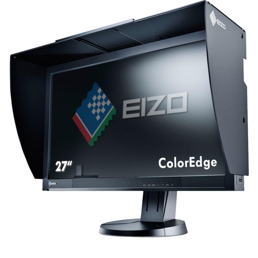 "ColorEdge CG277-BK 27"" Wide Quad HD LED Plana Negro pantalla para PC LED display, Monitor LED"