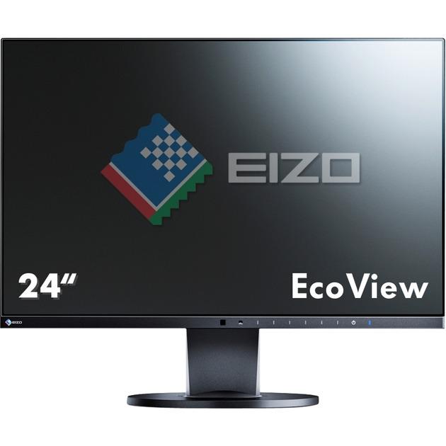 """EV2450 23.8"""" Full HD IPS Negro pantalla para PC, Monitor LED"""