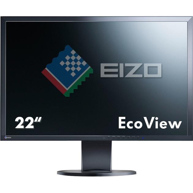 "FlexScan EV2216WFS3 22"" WSXGA+ LED Plana Negro pantalla para PC, Monitor LED"