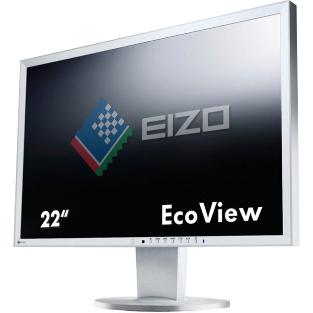 "FlexScan EV2216WFS3 pantalla para PC 55,9 cm (22"") WSXGA+ LED Plana Gris, Monitor LED"
