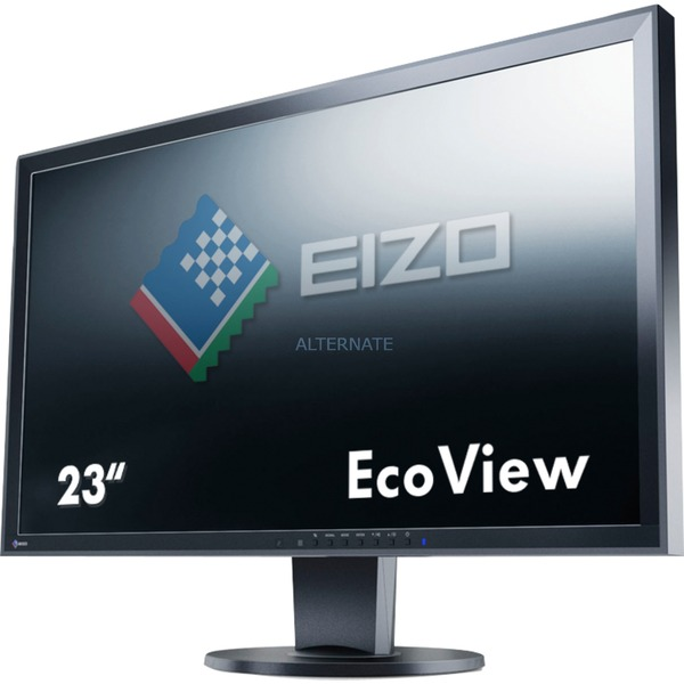 "FlexScan EV2316WFS3 23"" Full HD TN Negro pantalla para PC, Monitor LED"
