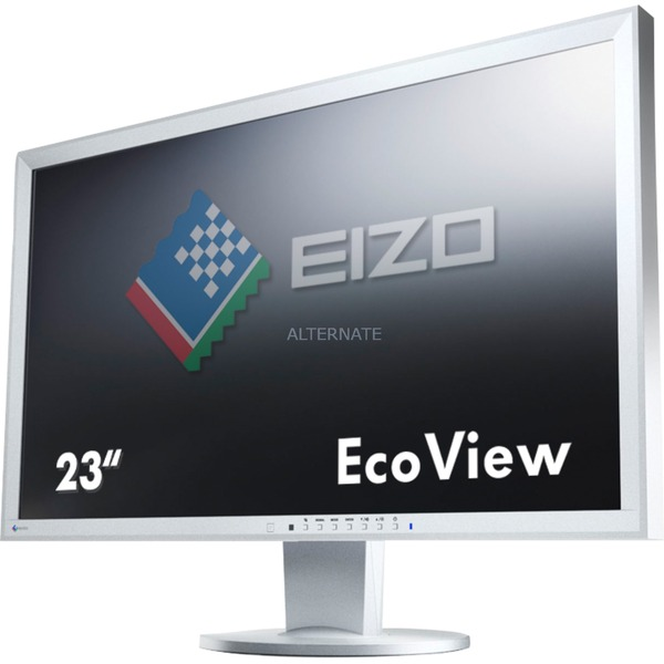 "FlexScan EV2316WFS3 pantalla para PC 58,4 cm (23"") Full HD LED Plana Gris, Monitor LED"