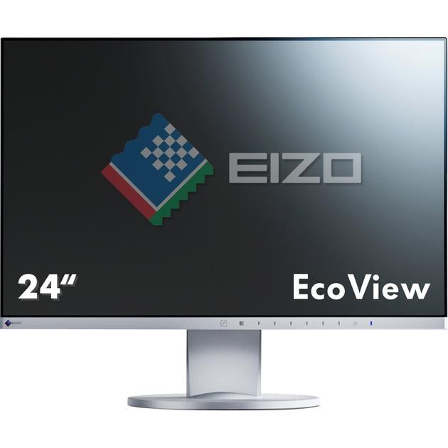 "FlexScan EV2450 23.8"" Full HD LED Plana Gris pantalla para PC, Monitor LED"