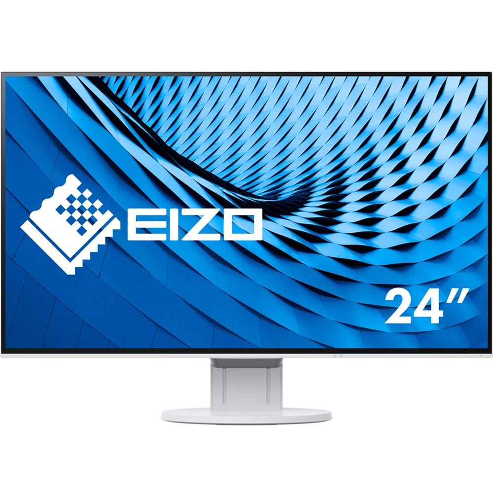 "FlexScan EV2451 23.8"" Full HD IPS Blanco Plana pantalla para PC, Monitor LED"