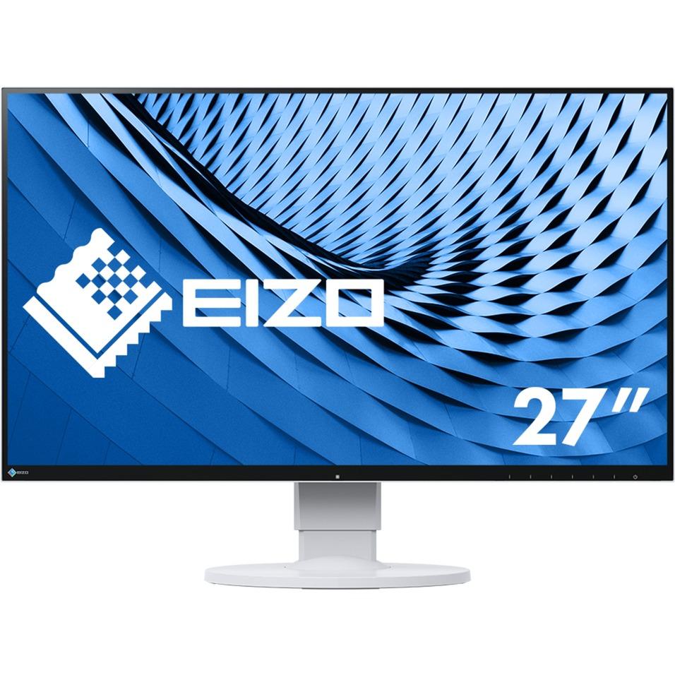 "FlexScan EV2780 LED display 68,6 cm (27"") 2560 x 1440 Pixeles Wide Quad HD Plana Blanco, Monitor LED"