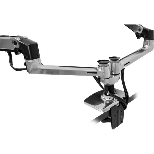 """LX Series Dual Side-by-Side Arm 68,6 cm (27"""") Plata, Fijación/Instalación"""