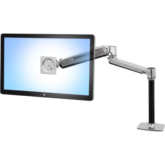 """LX Series LX HD Sit-Stand 116,8 cm (46"""") Aluminio, Fijación/Instalación"""
