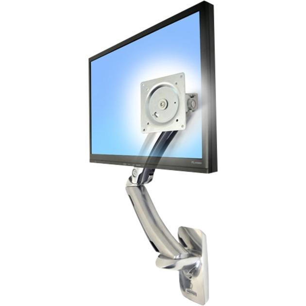 """MX Wall Mount LCD Arm 42"""" Aluminio soporte de pared para pantalla plana"""