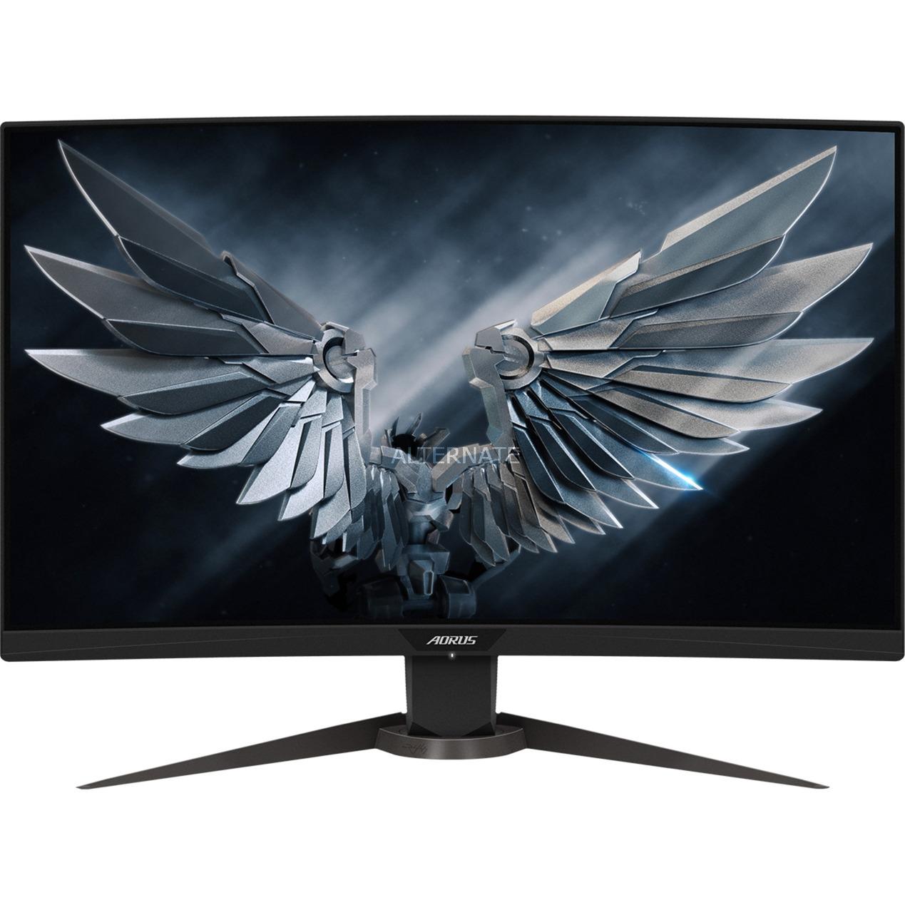 AORUS CV27F, Monitor LED