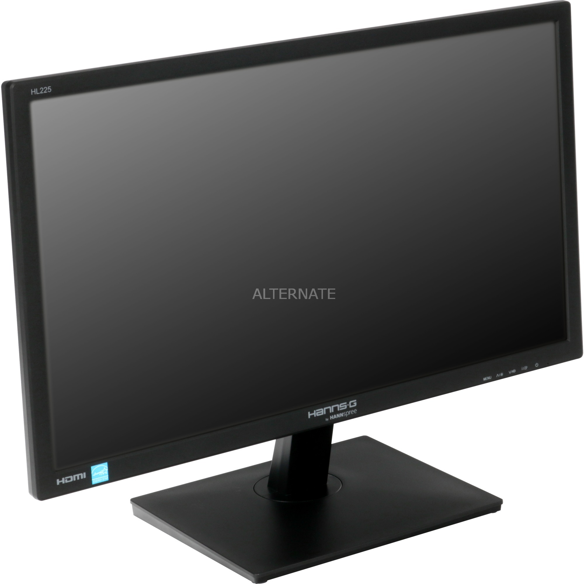 "Hanns.G HL 225 HPB pantalla para PC 54,6 cm (21.5"") Full HD LCD Plana Negro, Monitor LED"