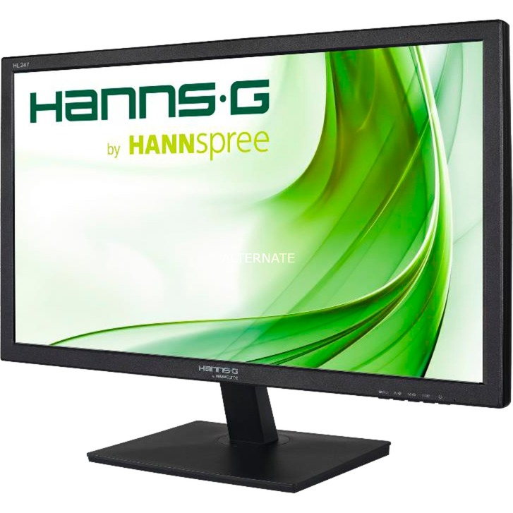 "Hanns.G HL 247 HPB LED display 59,9 cm (23.6"") Full HD LCD Plana Negro, Monitor LED"