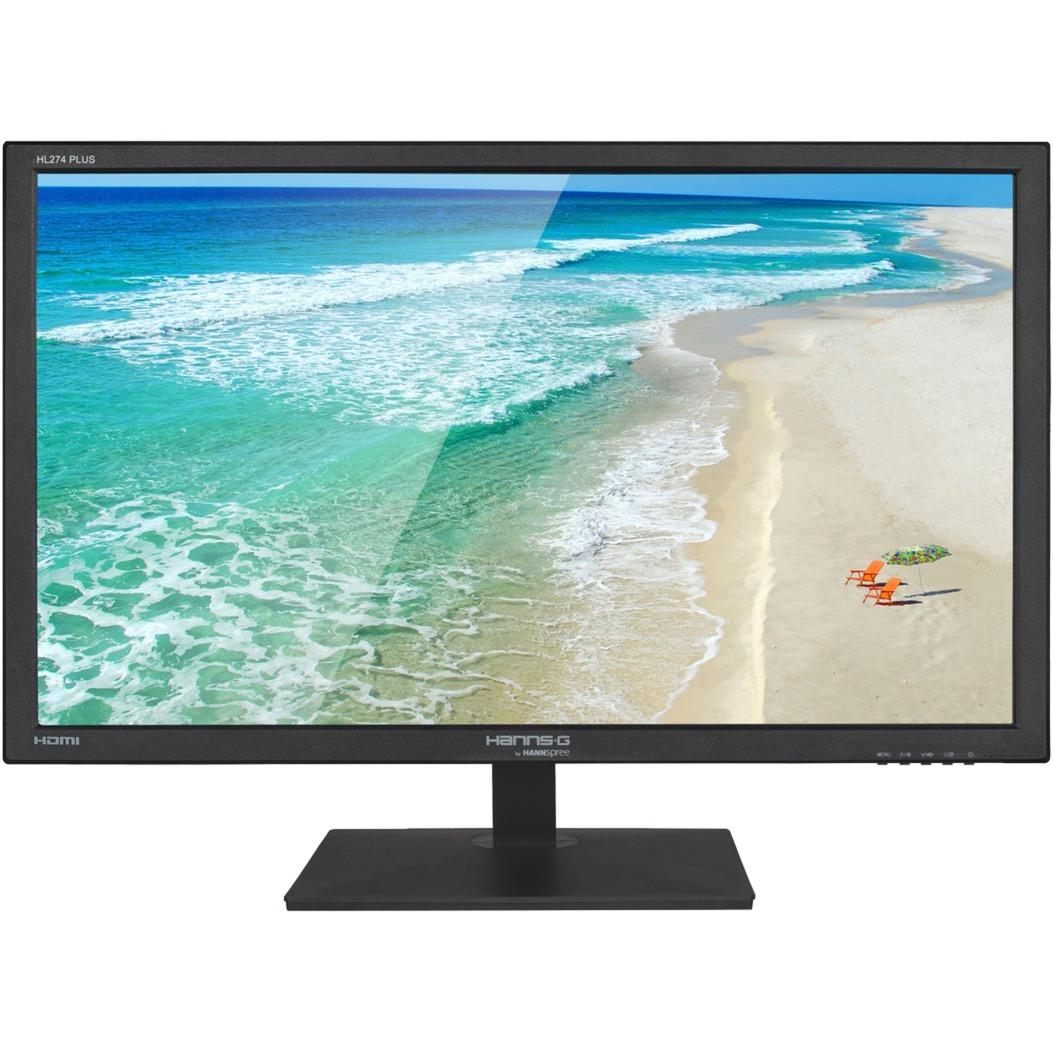 """Hanns.G HL 274 HPB pantalla para PC 68,6 cm (27"""") Full HD LCD Plana Mate Negro, Monitor LED"""