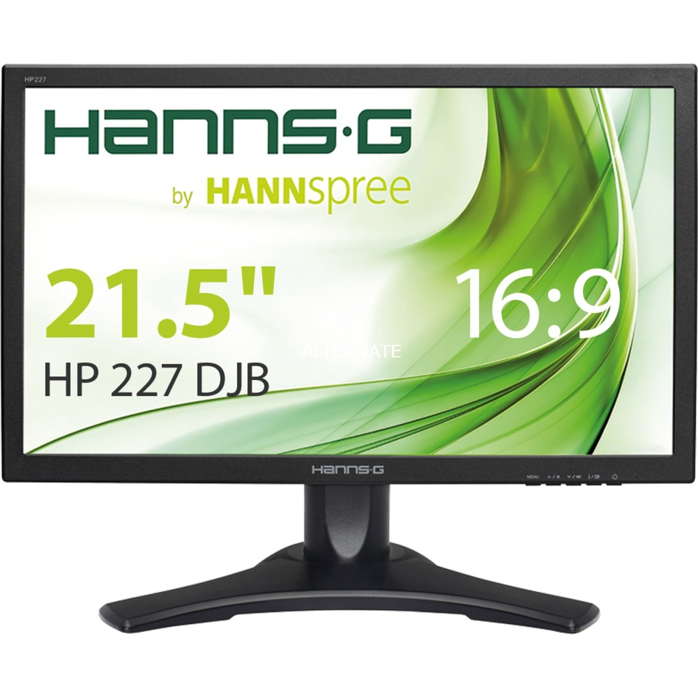 "Hanns.G HP227DJB LED display 54,6 cm (21.5"") Full HD Mate Negro, Monitor LED"