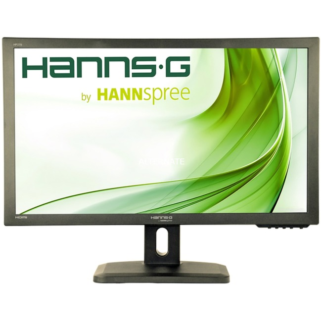 "Hanns.G HP278UJB LED display 68,6 cm (27"") 1920 x 1080 Pixeles Full HD LCD Plana Negro, Monitor LED"