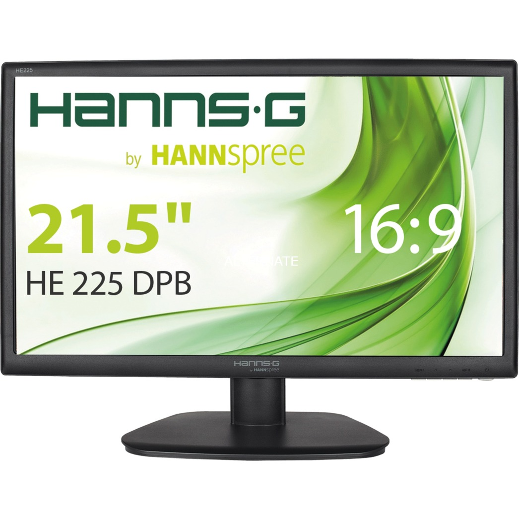 "Hanns.G HE225DPB 21.5"" Full HD LCD Negro pantalla para PC, Monitor LED"