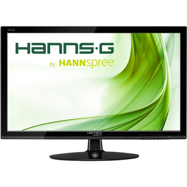 "Hanns.G HE 245 HPB 23.8"" Full HD TFT Negro pantalla para PC, Monitor LED"