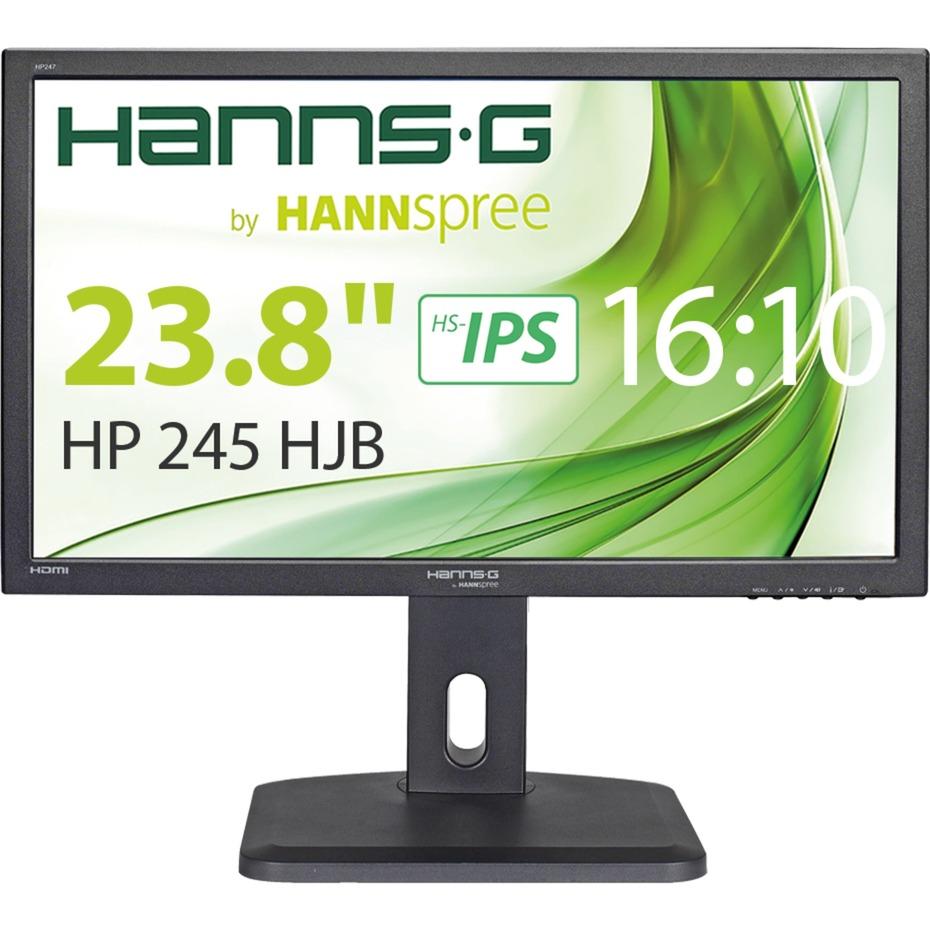 "Hanns.G HP 245 HJB 23.8"" Full HD HS-IPS Negro pantalla para PC, Monitor LED"
