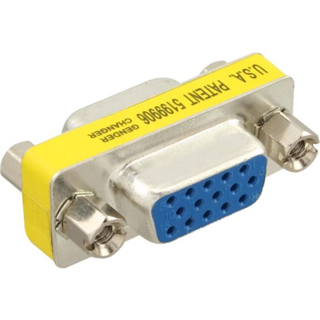 37724 conector F/F Plata, Adaptador