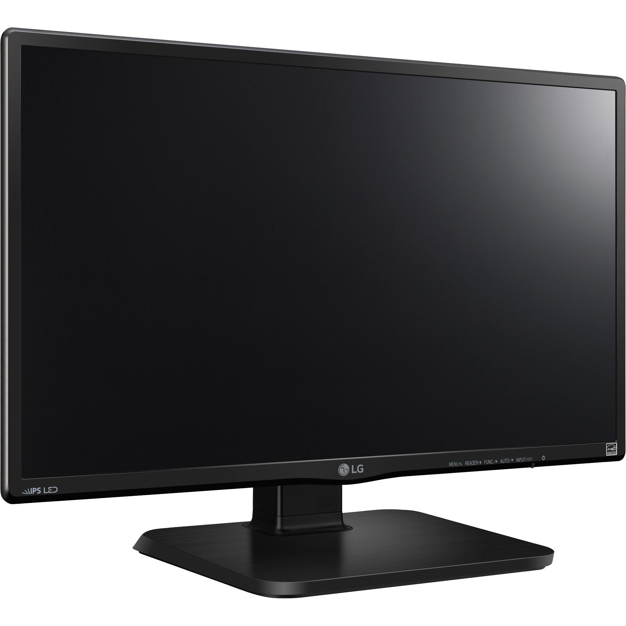 """24BK450H pantalla para PC 60,5 cm (23.8"""") Full HD LCD Plana Negro, Monitor LED"""